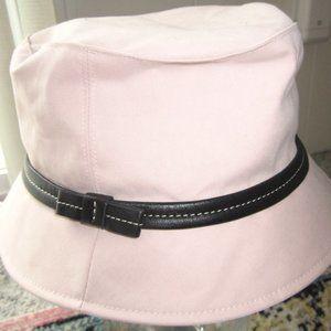 Coach Blush Pink Bucket Hat